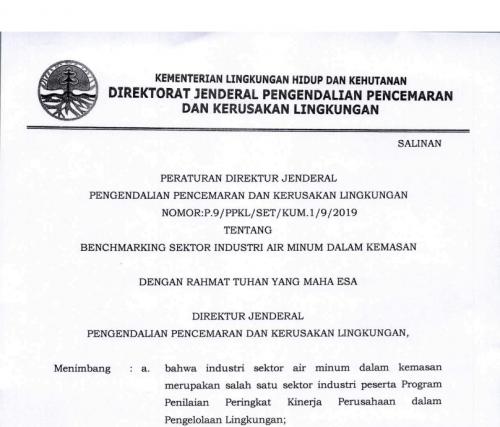 P 9 2019 Benchmarking Industri Air Minum dalam Kem