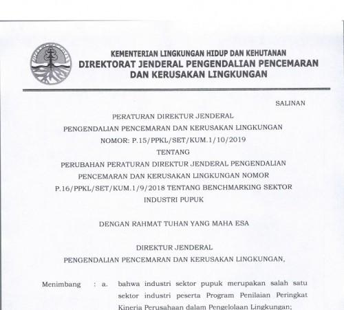 P-15 2019 Benchmarking Industri Pupuk