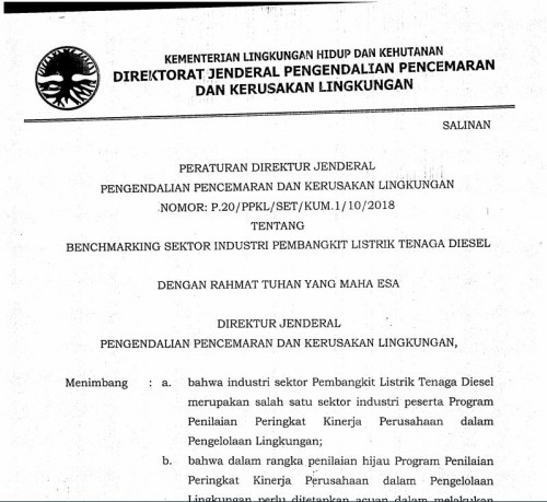 P-20 2018 Benchmarking Industri PLTD
