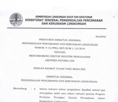 P-16 2019 Benchmarking Industri pengolahan LNG
