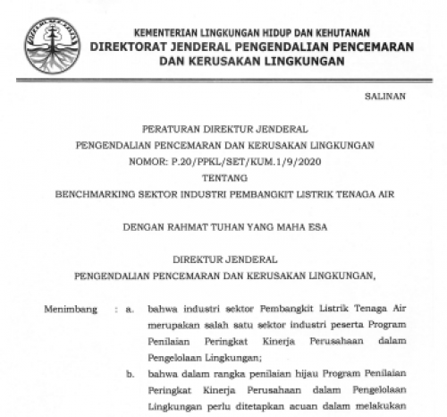 P-20 2020 Benchmarking PLTA